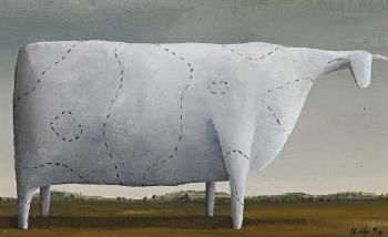 Dobell's Cows (4) by John Kelly | Blouin Art Sales Index