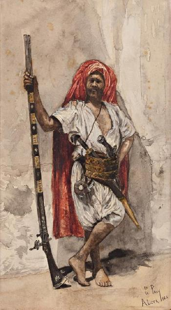 An Algerian Warrior by PHILIPPE PAVY