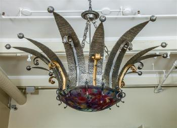 Chandelier by ulla darni blouin art sales index ulla darni aloadofball Choice Image