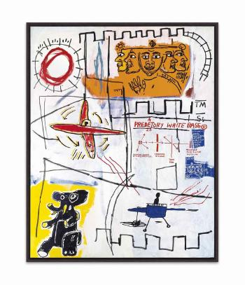 Alpha Particles by JEAN-MICHEL BASQUIAT