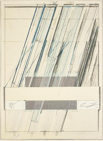 Untitled, from Hommage à Picasso by CY TWOMBLY