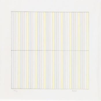 Untitled (Pace Editions) by AGNES MARTIN