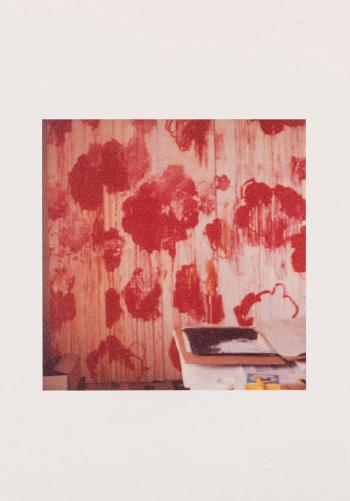 Unfinished Painting (Gaeta) by CY TWOMBLY