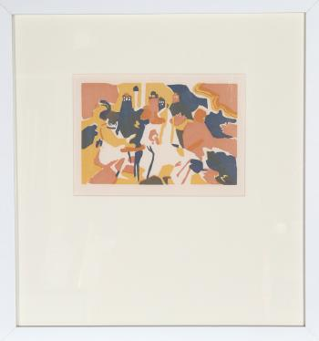 Orientalisches from XXE Siecle by WASSILY KANDINSKY