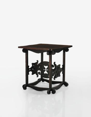 Side table by Charles Rohlfs | Blouin Art Sales Index
