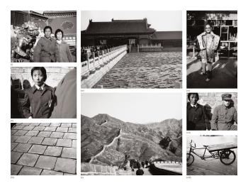 Eight works: (i) Two Women; (ii) Young Woman at Great Wall; (iii) Great Wall; (iv) Temple; (v) The Great Wall of China; (vi) Unidentified Woman; (vii) Young Man and Woman at Great Wall; (viii) Bicycle by ANDY WARHOL