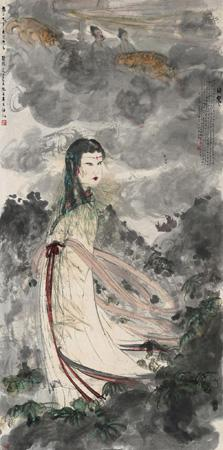 The Goddess by FU BAOSHI