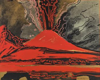 Vesuvius by ANDY WARHOL