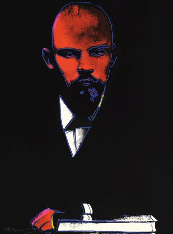 Black Lenin by ANDY WARHOL