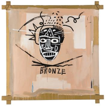 Bronze By JEAN MICHEL BASQUIAT