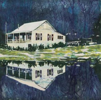 Camp Forestia by PETER DOIG