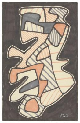 Le hochet (The rattle) by JEAN DUBUFFET