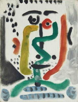Tête d'homme by PABLO PICASSO