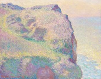 La Pointe Du Petit Ailly by CLAUDE MONET
