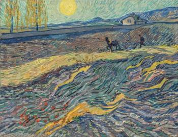 Laboureur Dans Un Champ by VINCENT VAN GOGH