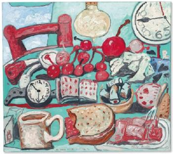Summer Kitchen Still Life by PHILIP GUSTON