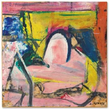 Composition I by WILLEM DE KOONING