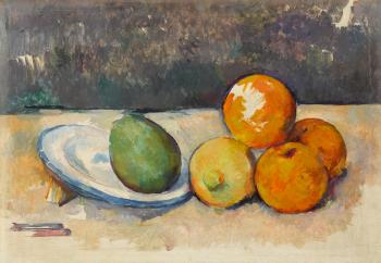 Nature morte by PAUL CEZANNE