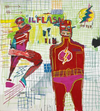 Flash In Naples by JEAN-MICHEL BASQUIAT