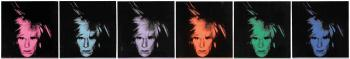 Six Self Portraits by ANDY WARHOL