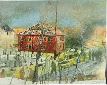 Red House by PETER DOIG