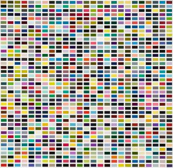 1025 Farben by GERHARD RICHTER