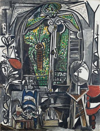 L'atelier by PABLO PICASSO