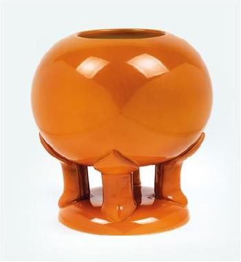 A Spherical Vase By Peter Behrens By Franz Anton Mehlem Blouin Art