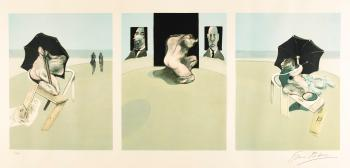Triptych (Sabatier 4) by FRANCIS BACON