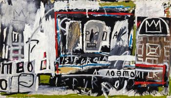 New York, New York by JEAN-MICHEL BASQUIAT