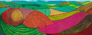 Double East Yorkshire by DAVID HOCKNEY