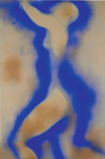 Untitled Anthropometry, (Ant 5) by YVES KLEIN