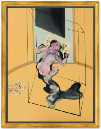 Figure In Movement by FRANCIS BACON