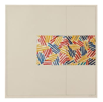 #3 (after 'Untitled 1975') by JASPER JOHNS