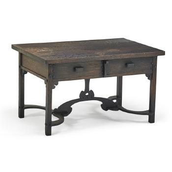 Library table by Charles Rohlfs | Blouin Art Sales Index