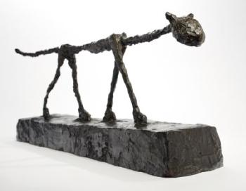Le Chat by ALBERTO GIACOMETTI