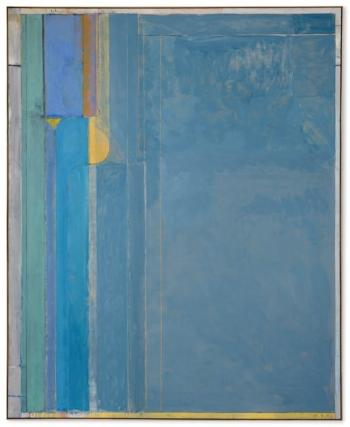 Ocean Park #137 by RICHARD DIEBENKORN