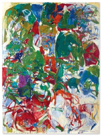 Russian Easter by JOAN MITCHELL