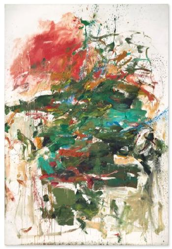 12 Hawks At 3 O'clock by JOAN MITCHELL