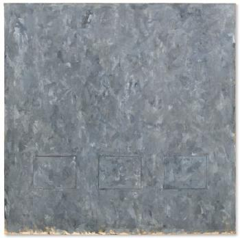 Gray Rectangles by JASPER JOHNS