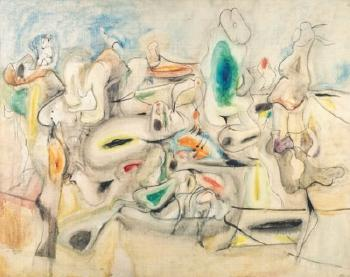 Good Afternoon, Mrs. Lincoln by ARSHILE GORKY