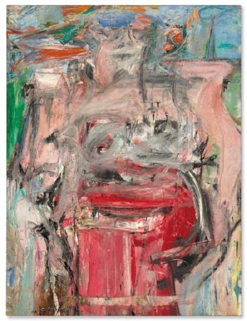 Woman As Landscape by WILLEM DE KOONING