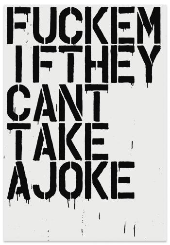 Fuckem by CHRISTOPHER WOOL