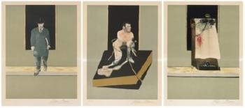 Triptych 1986-1987 by FRANCIS BACON