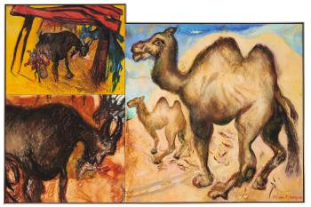 Camels And Goats by MALCOLM MORLEY