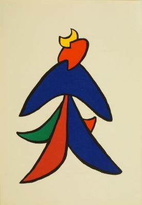 Abstract Composition by ALEXANDER CALDER