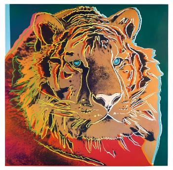 Siberian Tiger (from Endangered Species Portfolio) by ANDY WARHOL