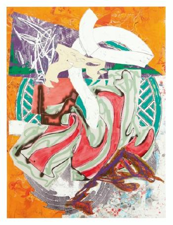 Ahab, From The Waves by FRANK STELLA