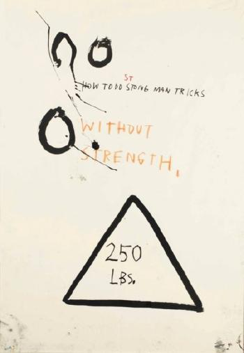Untitled (How to Do Strong Man Tricks Without Strength) by 