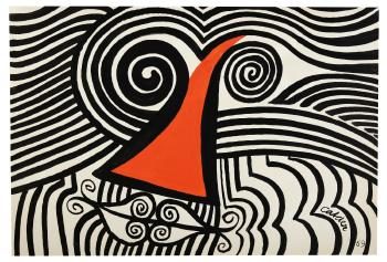 Loopy Face by ALEXANDER CALDER